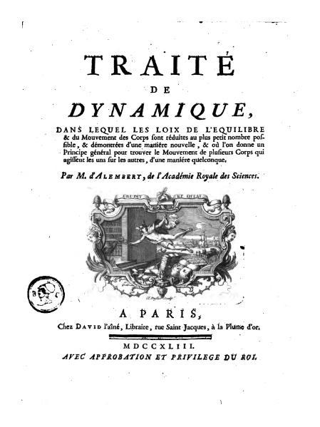 File:Alembert - Traité de dynamique (1743).djvu