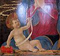 Alesso baldovinetti, madonna col bambino, 1464 ca. 03.JPG