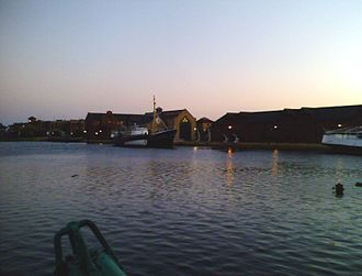 Grimsby - Alexandra Docks and National Fishing Heritage Centre