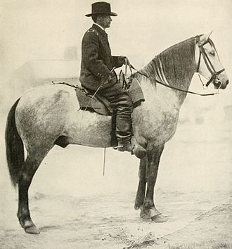 Alfred Pleasonton - Photo of Union Cavalry General Pleasonton taken in Falmouth, Virginia, 1864