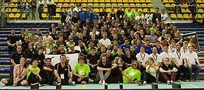 RoboCup Standard Platform League - Image: All SPL Teams 2013