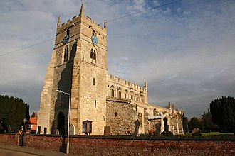Sutton-on-Trent - All Saints' church