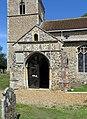 All Saints, Weston Longville, Norfolk - Porch - geograph.org.uk - 485083.jpg