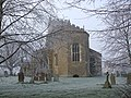 All Saints, Wing on a frosty morning - geograph.org.uk - 296635.jpg