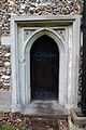 All Saints Theydon Garnon chancel south door (Canon 6D).jpg