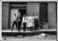 All working in May Hosiery Mills. Youngest boy admitted 5 years of age and had been working there 9 months. He is... - NARA - 523342.tif