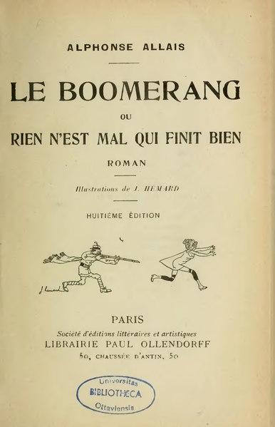 File:Allais - Le Boomerang.djvu