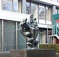 Alma Mater door Nic Jonk, Comeniuslaan, Nijmegen.jpg
