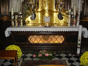 Anton Martin Slomšek - Tomb in the Maribor Cathedral.