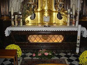 Anton Martin Slomšek - Tomb in the Maribor Cathedral.