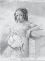 Amalie Mathilde Seel (geb. 1836), Bleistiftzeichnung, 1844.png