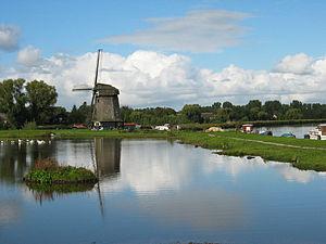 "Oudorp - Windmill ""Ambachtsmolen"" in Oudorp"