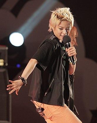 Amber Liu (singer) - Image: Amber Liu in Seoul Plaza (2)