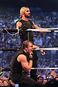 Ambrose and Rollins at WM30.jpg
