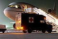 Ambulance Delivers Casualty for Evacuation at Kandahar MOD 45150090.jpg