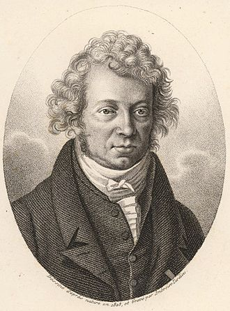 André-Marie Ampère - Engraving of André-Marie Ampère