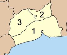 Provincia di Samut Sakhon-Suddivisione amministrativa-Amphoe Samut Sakhon