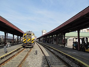 Downtown Springfield Railroad District - Springfield Amtrak Station