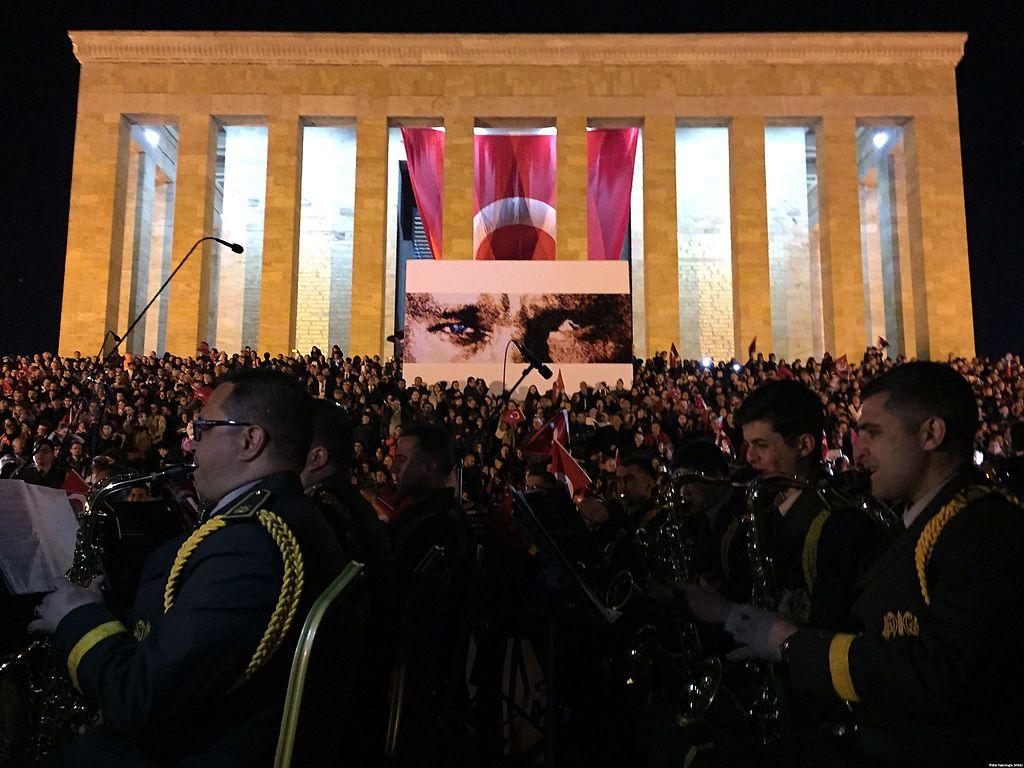 Anıtkabir'de Çanakkale'nin 100. yılı anması