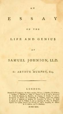 An Essay on the Life and Genius of Samuel Johnson.djvu