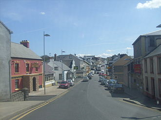 Dungloe - Dungloe Main Street.