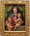 Andrea del sarto (bottega), madonna col bambino e s. giovannino, ve.JPG