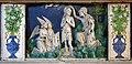 Andrea della robbia, pala dell'ascensione di maria, predella, 03 battesimo di cristo.jpg