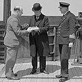 Andries Blitz, Willem Ruys en kapitein Dubois (1935).jpg
