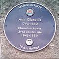 Ann Glanville blue plaque IMG 20170219 110734 glanville (32145969424).jpg