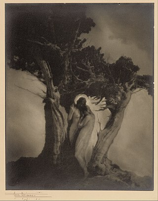 Anne W. Brigman (American) - The Heart of the Storm - Google Art Project.jpg