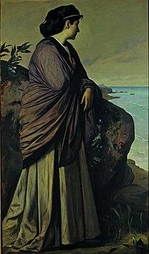 Anselm Feuerbach - On the Seashore (Modern Iphigenia) - Google Art Project.jpg