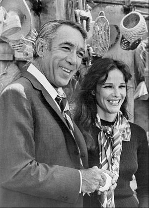 The Man and the City - Anthony Quinn and Janice Rule, 1971