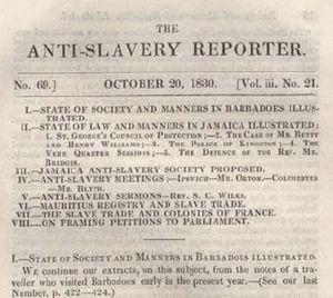 Anti-Slavery Reporter - Anti Slavery Reporter October 1830