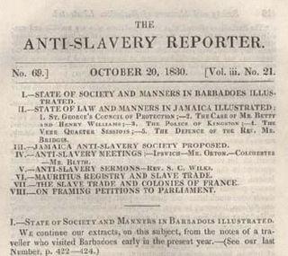 <i>Anti-Slavery Reporter</i> British journal