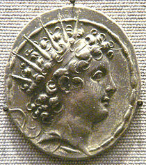 Coin of Antiochus VI Dionysus. British Museum.