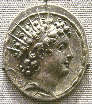 Antiochus VI Dionysus - Image: Antiochos VI