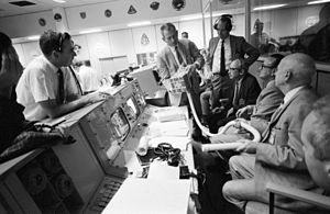 Aerospace engineering - NASA engineers, seen here in mission control during Apollo 13, worked diligently to protect the lives of the astronauts on the mission.
