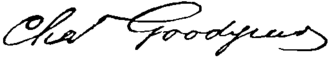 Charles Goodyear - Image: Appletons' Goodyear Charles signature