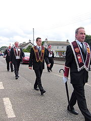 Apprentice Boys parade Bushmills Northern Ireland