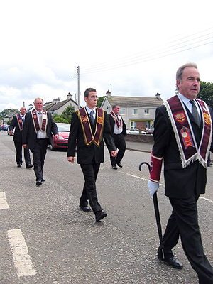 Apprentice Boys of Derry - Apprentice Boys parade in Bushmills