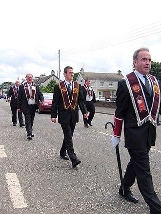 Apprentice Boys of Derry - Apprentice Boys parade in Bushmills