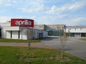 Aprilia - Aprilia plant, Scorzè, Venice