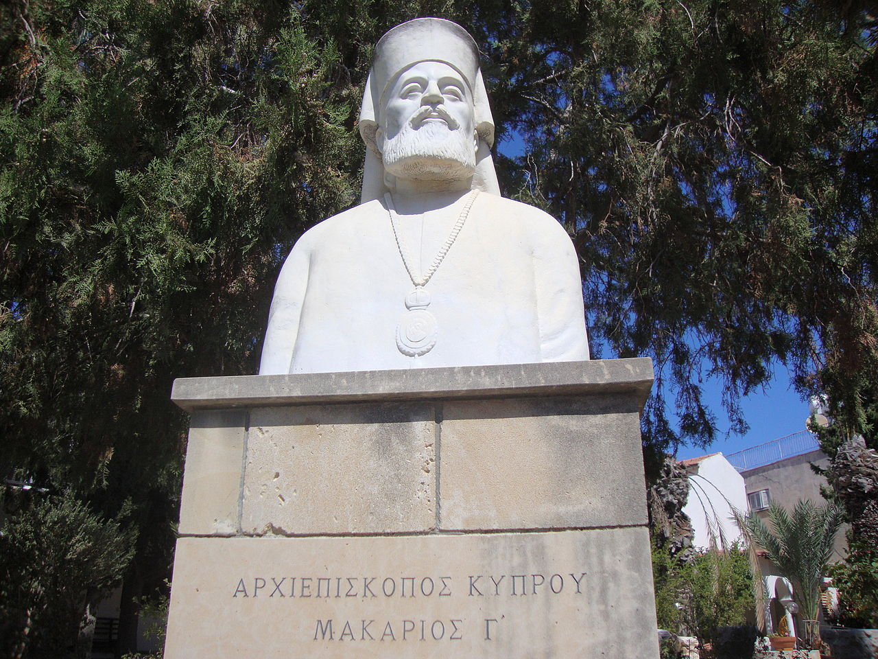 Archbishop Makarios III. Paphos.JPG
