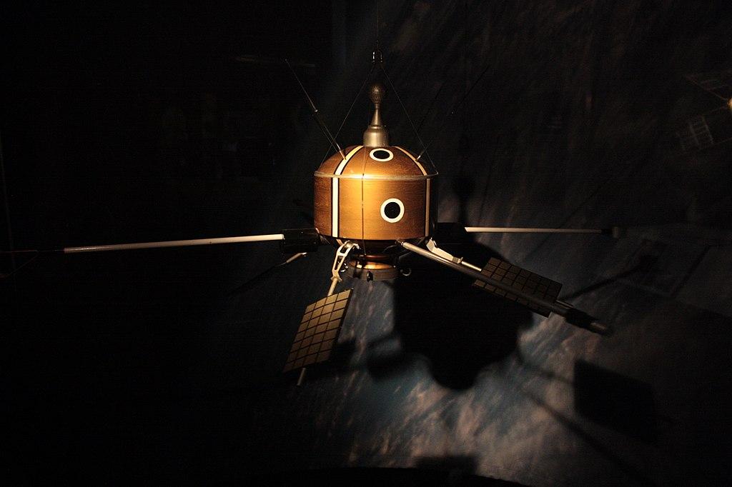 Ariel 1 satellite, London Science Museum