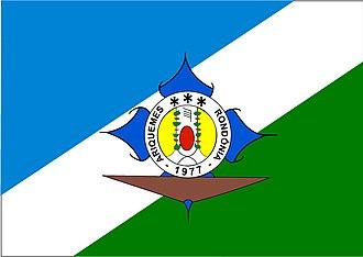Ariquemes - Image: Ariquemes bandeira
