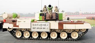 Arjun (tank) - Indian Army Arjun Tank