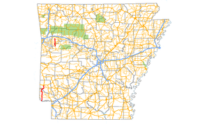 Arkansas Highway 41 - Image: Arkansas 41