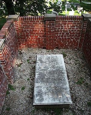 Mary Randolph - Grave of Mary Randolph at Arlington National Cemetery.