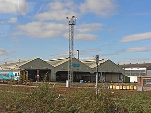 Cardiff Canton TMD - The depot in 2009