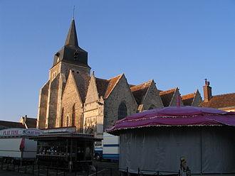 Arrou - Image: Arrou Church